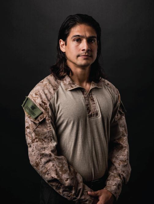 Luis M Castillo - US Marine Corp. Veteran