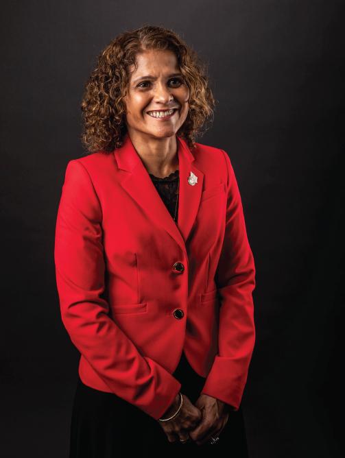 Sandra Torres-Pintos - US Marine Corps. Veteran