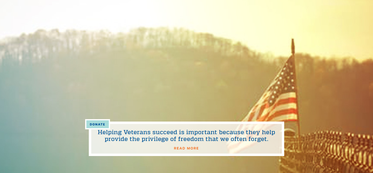 Click to make a donation towards supporting veterans