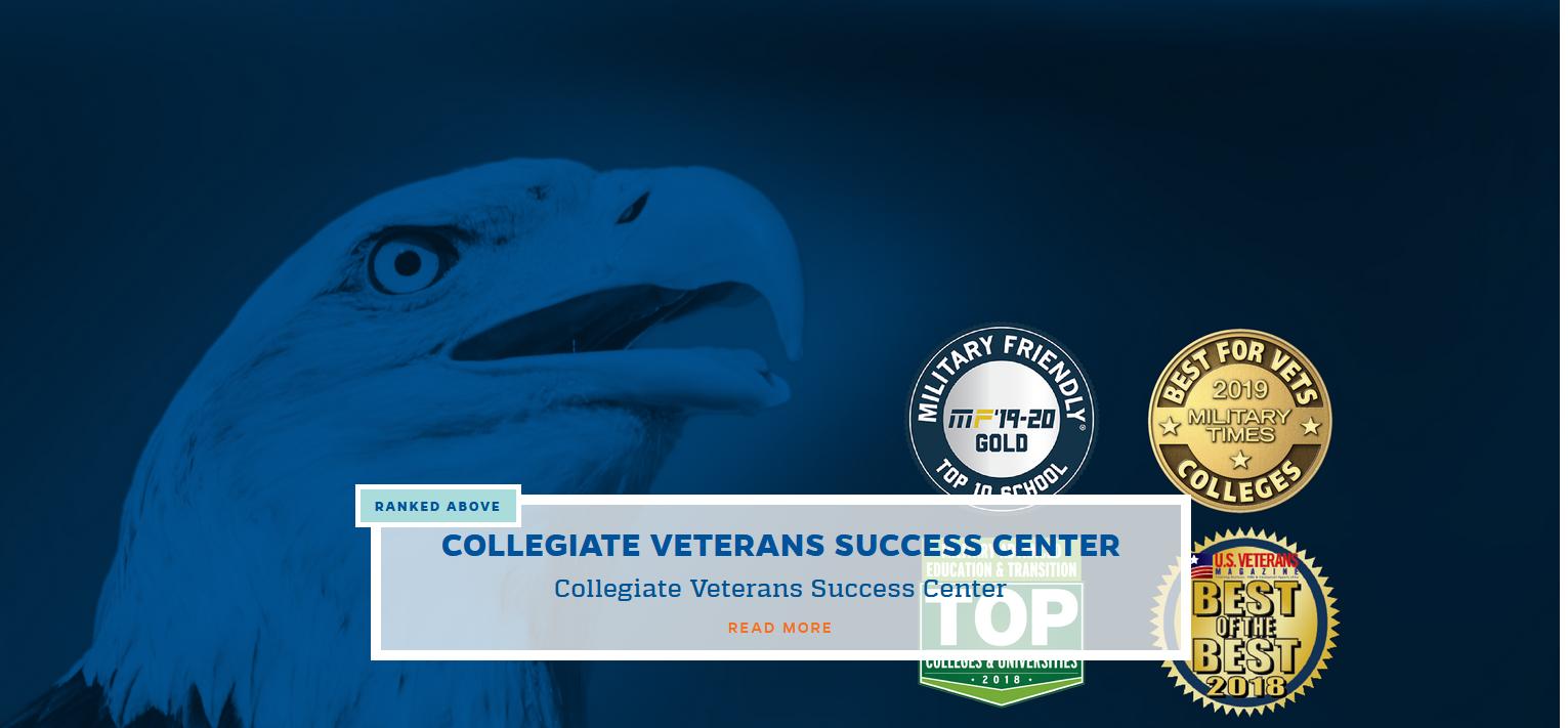 Collegiate Veterans Success Center, click to read more